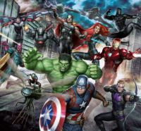 Фототапет 111391 Marvel Avengers Assemble