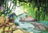 Фототапет 8-4106 Jungle Book Swimming with Baloo