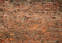 Фототапет 5195-4P-1 Brick Wall Red