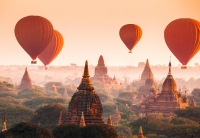 Фототапет 965 Ballons over Bagan